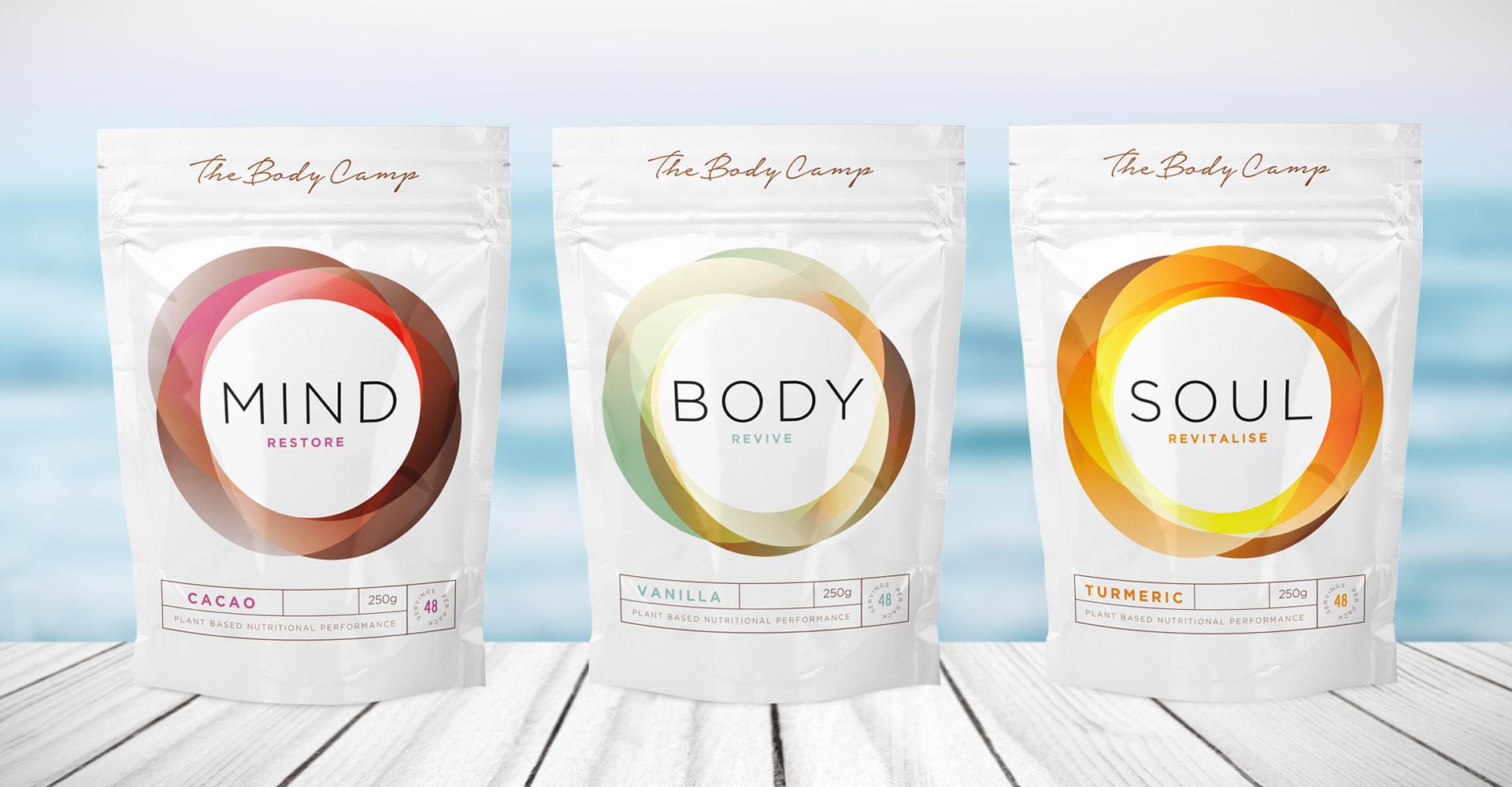 Sports drinks packaging design